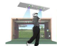 OKON SPIN高速摄像模拟高尔夫