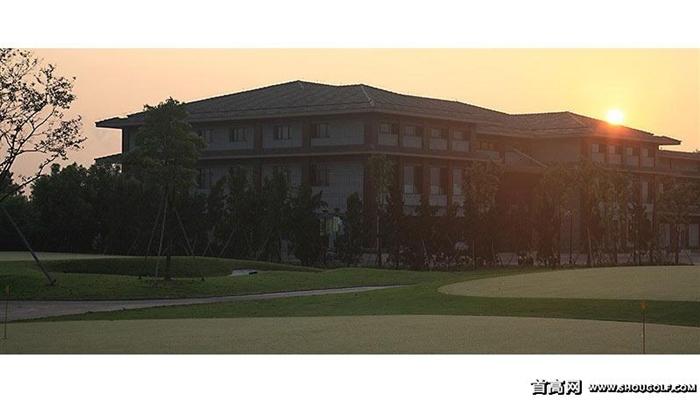 江苏扬州太阳岛高尔夫球场