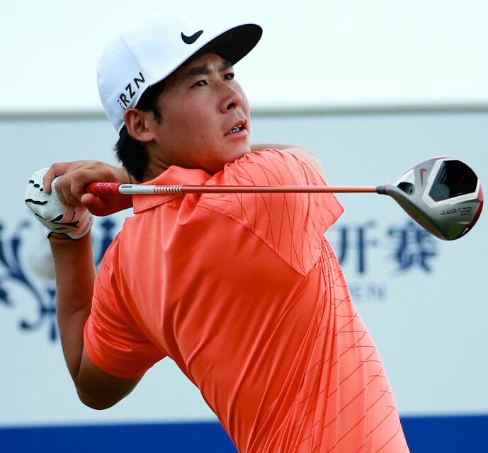 美巡中国赛--览海公开赛新加坡选手郭鹏翔领先 张新军